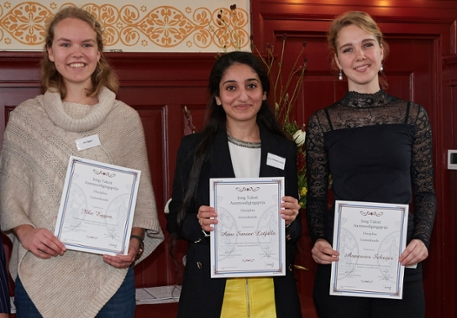 KHMW Young Talent 2018 - prize winners medicine