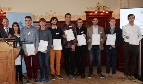 KHMW Young Talent 2018 - Prize winners computer science