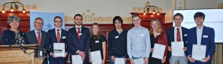 KHMW Young Talent 2018 - Prize winners Physics