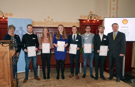 KHMW Young Talent 2018 - Prize winners Chemistry